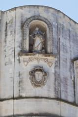 The Aragonese Castle of Martano. Puglia. Italy.
