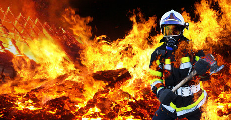 Feuerwehrmann Firefighter Held
