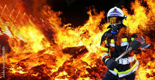 Feuerwehrmann Firefighter Held - 42948083