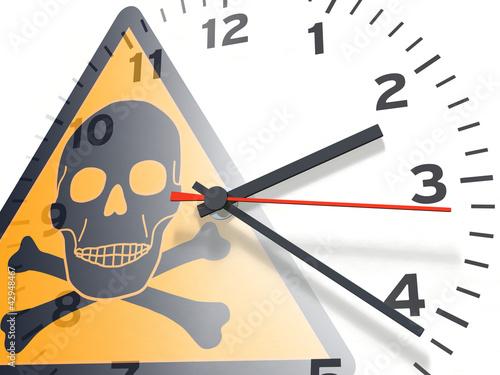 Uhren-Serie: Totenkopf & Uhr
