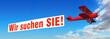 Doppeldecker & Werbebanner Wir suchen SIE!
