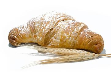 cornetto con spiga di grano