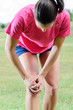 Leinwandbild Motiv Sports Injury