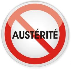 panneau austérité