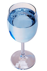 Water Glass with pure water