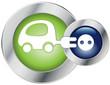 Glossy Button Elektroauto