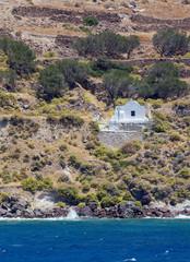 Agios Nikolaos chapel, Milos island, Cyclades, Greece