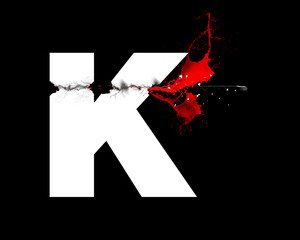 K - Lettre - assassinat
