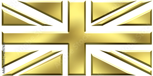 UK gold flag
