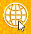 Global communications symbol