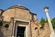 Temple of Romulus in th Roman forum