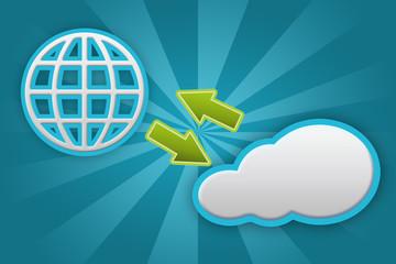 Austausch Cloud