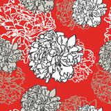 Fototapeta tło - beżowy - Kwiat