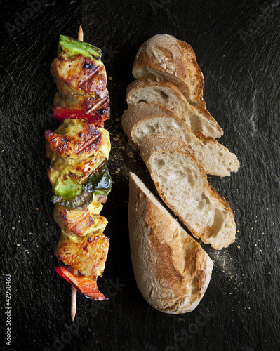 Barbecue Brochette de Poulet