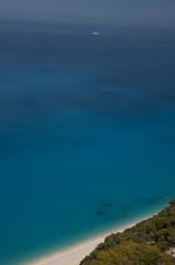 Lefkada sea
