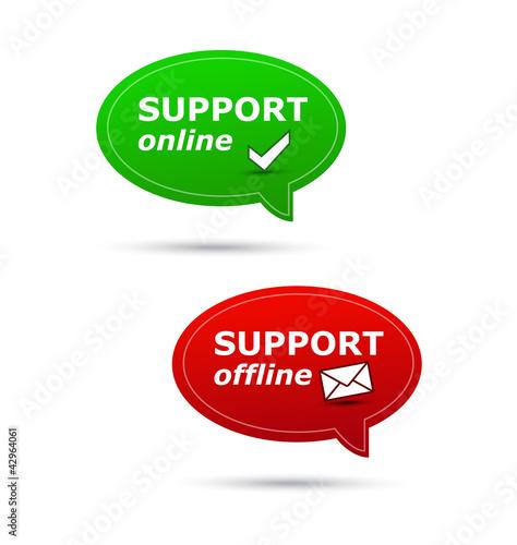 Support online/offline