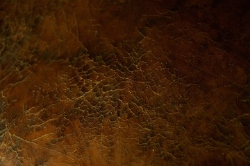 Cracked leather texture