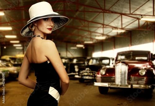 Fototapeta garaż - kapelusz - Podróż / Transport