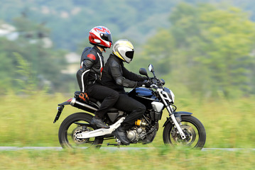 two motorcyclist