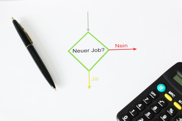 Neuer Job, Chart