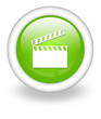 "Light Green Icon ""Clapperboard"""