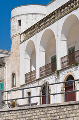 Amati palace. Cisternino. Puglia. Italy.
