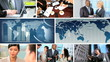 Global Business Montage Digital Images, USA