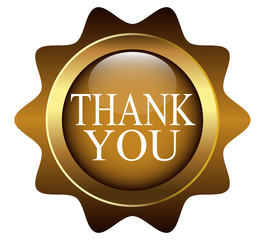 "web button with the words ""thank you"""