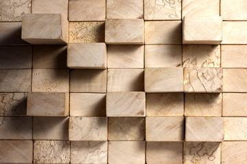 Wooden blocks abstract grunge background