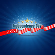 Vector independence day design, illustration