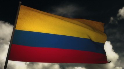 Flag Colombia 02