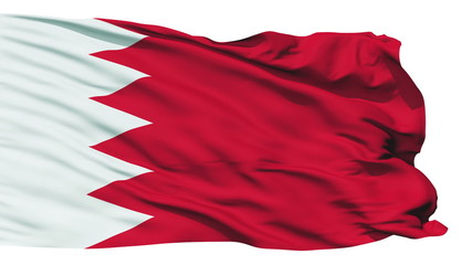 Waving national flag of Bahrain