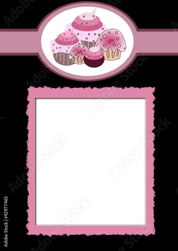 """Carta para Pastelería"""" Imágenes de archivo y vectores libres de ..."""