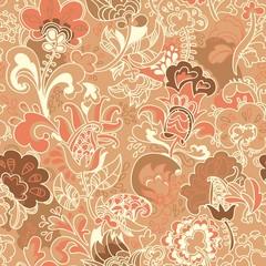 бесшовный цветочный узор орнамент