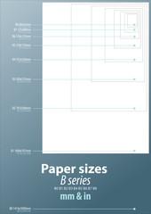 Paper sizes B series