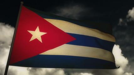 Flag Cuba 02