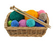 Knitting Wool and Needles - 42981844