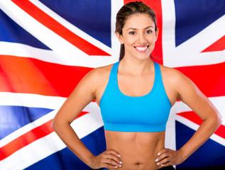British female athlete