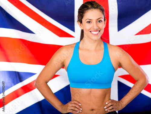 British female athlete