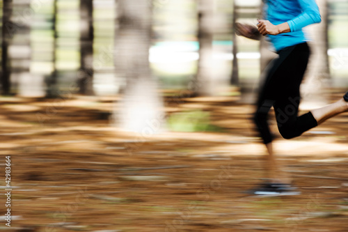 motion blur runner