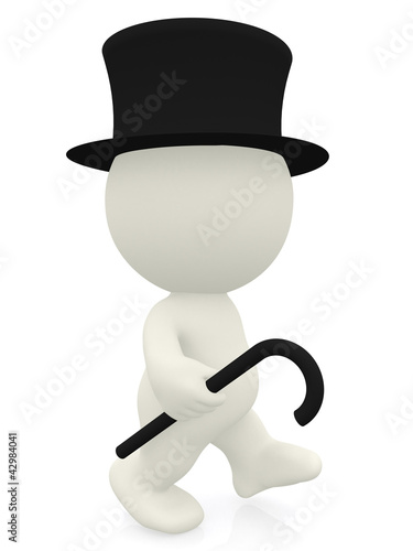 3D Gentleman