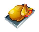 vector icon chicken