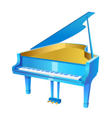vector icon piano