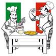 zwei  italienische Köche
