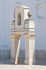 Madonna del Pozzo Sanctuary Basilica. Capurso. Puglia. Italy.