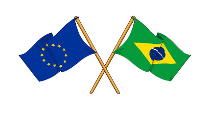 European Union and Brazil alliance and friendship