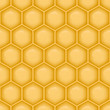 Seamless vector background with structure of honeycomb.