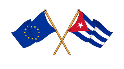 European Union and Cuba alliance and friendship