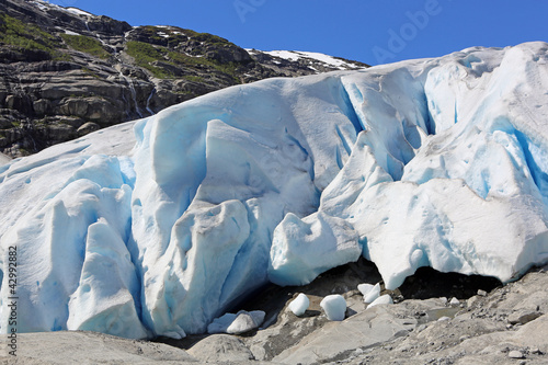 Nigardsbreen Glacier. Norway