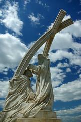 Esztergom, Koronázási emlékmű / Hungary